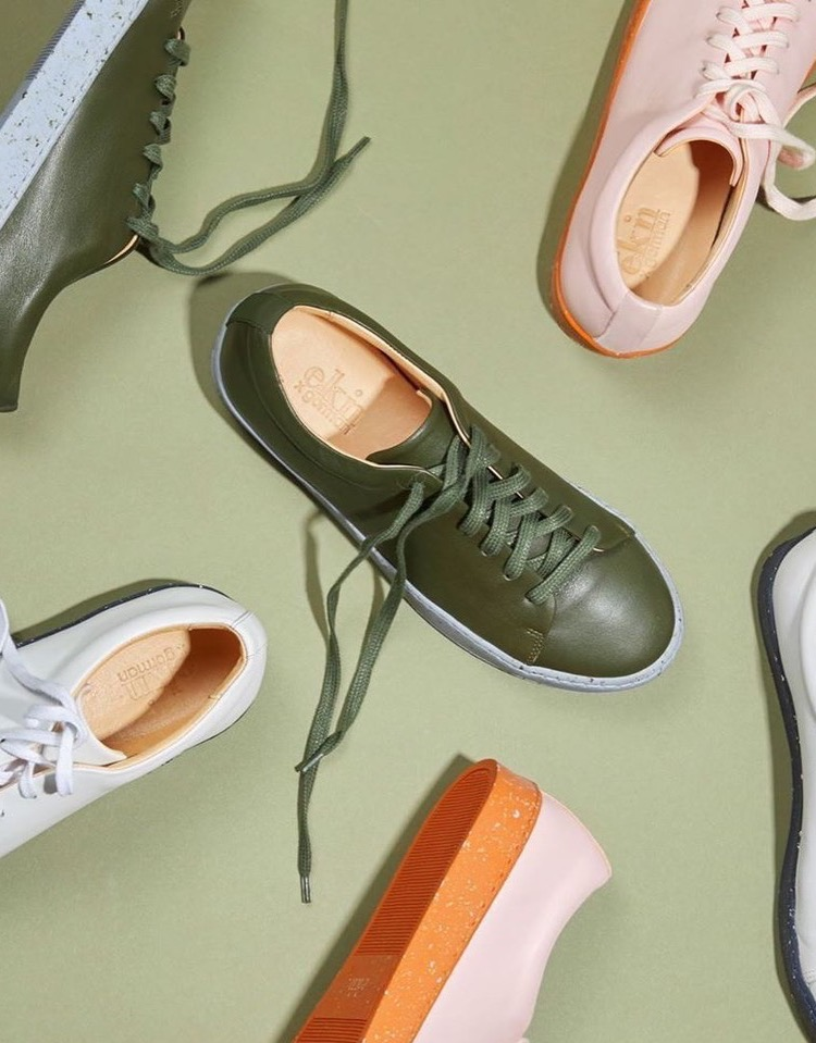 Gorman teams up with Ekn Footwear for a line of sneakers
