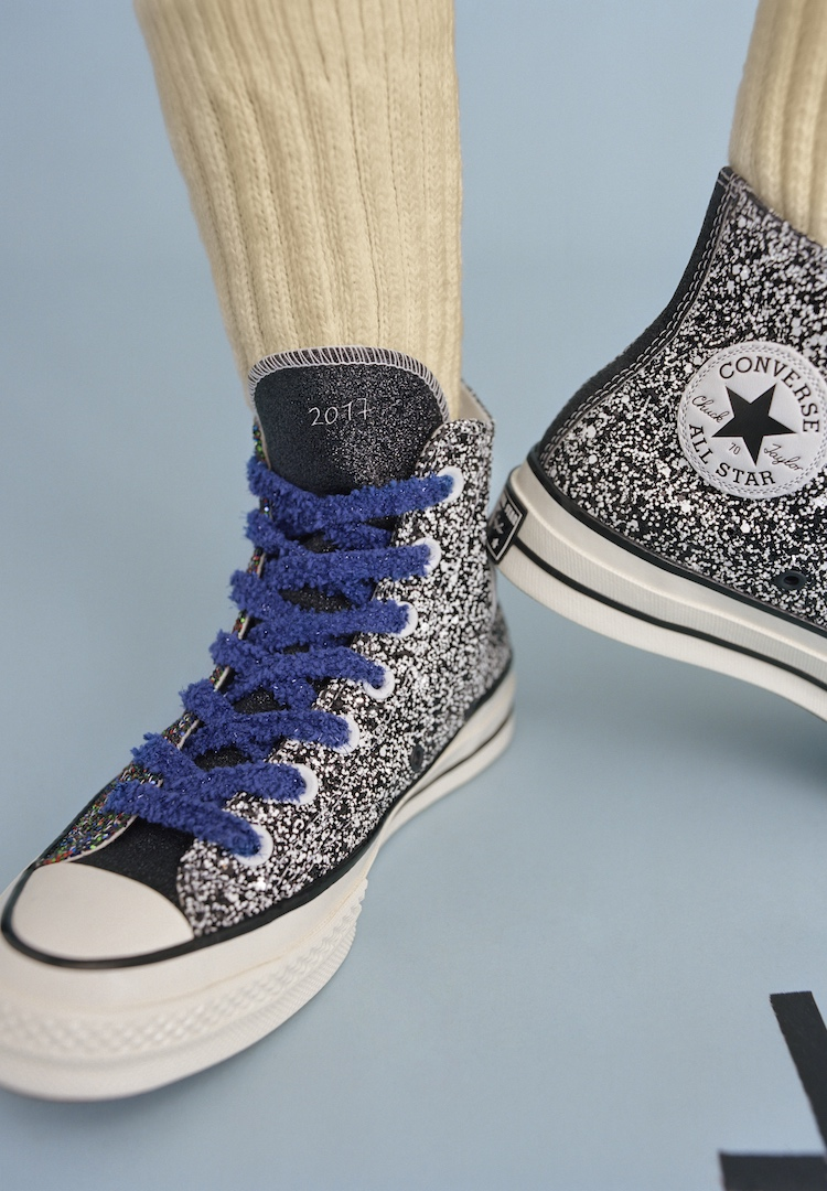 JW Anderson and Converse are back with another glittery