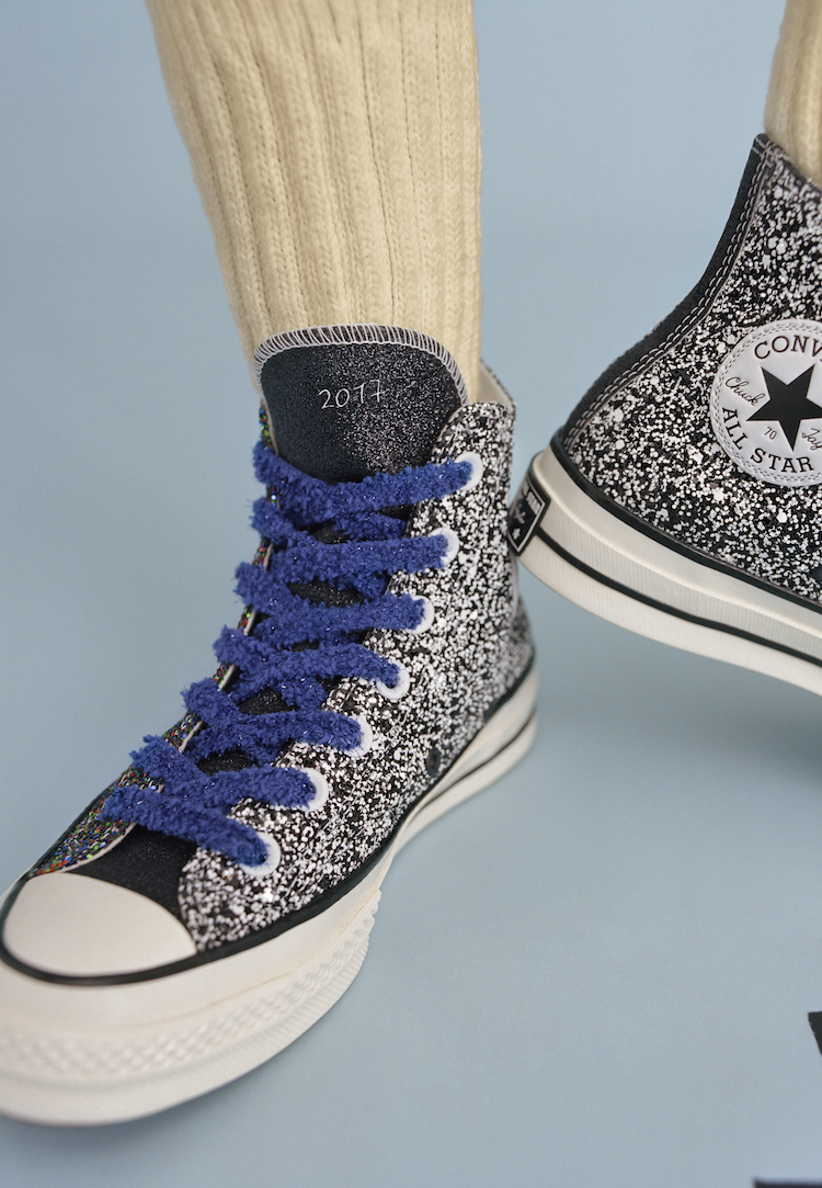 JW Anderson and Converse are back with another glittery collab