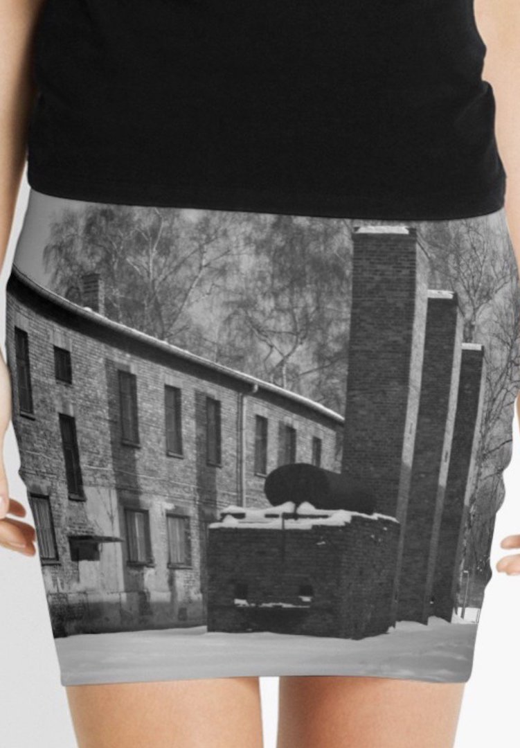 Aussie retailer slammed for selling Auschwitz mini skirt and other Holocaust merchandise