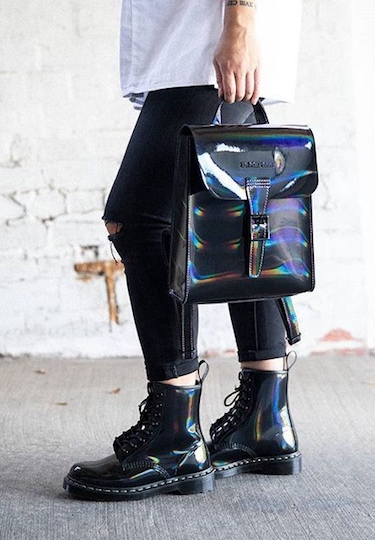 Dr Martens teases a holographic collection