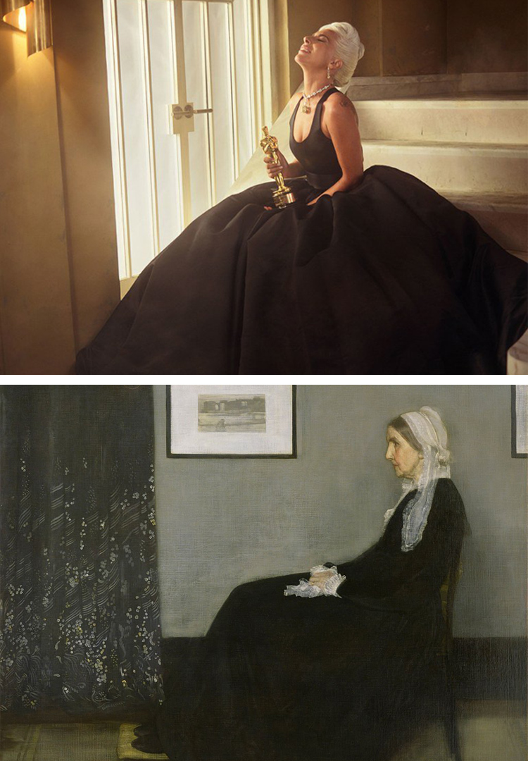 This Twitter account pairs iconic pop culture moments with famous artworks