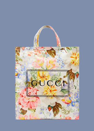 Gucci is releasing printed tote bags for your next grocery shop