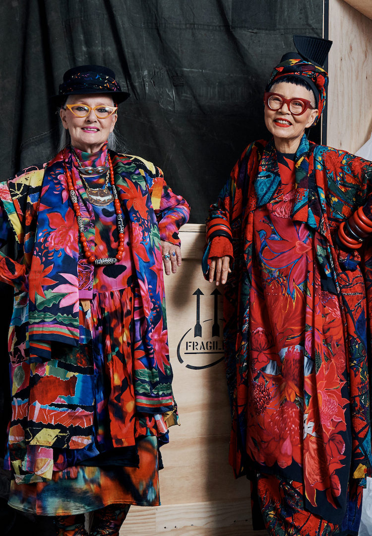 Aussie fashion icons Jenny Kee and Linda Jackson are getting an immersive exhibition