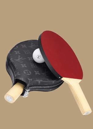 Elevate your table tennis game with Louis Vuitton's $2,750 ping pong set