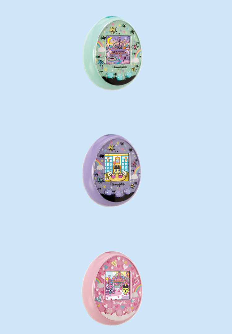 The new Tamagotchi comes in colour and will connect to your phone
