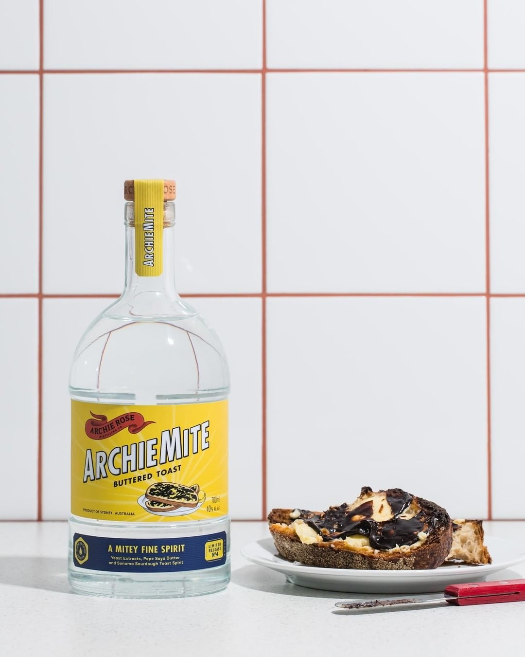 A Vegemite on toast-flavoured spirit is here for the most Aussie cocktails ever