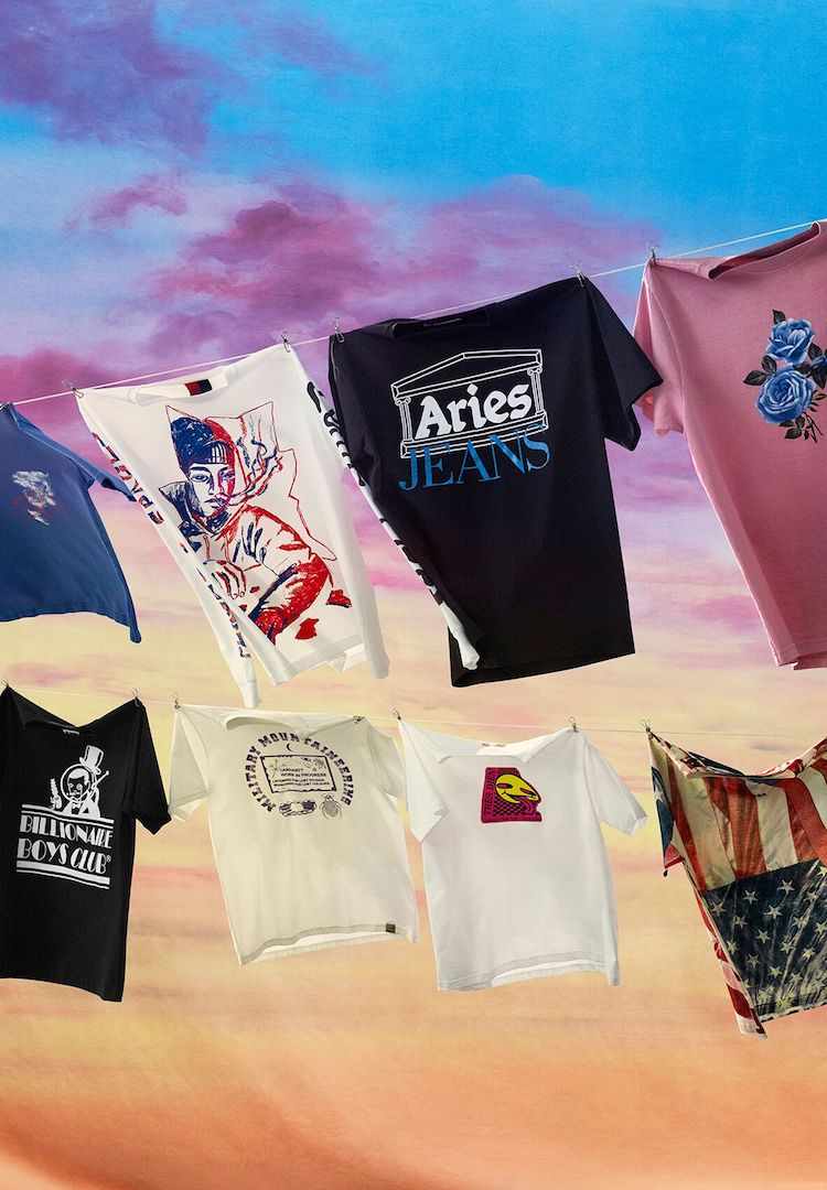 Mr Porter teams up with 44 designers on a huge T-shirt collection