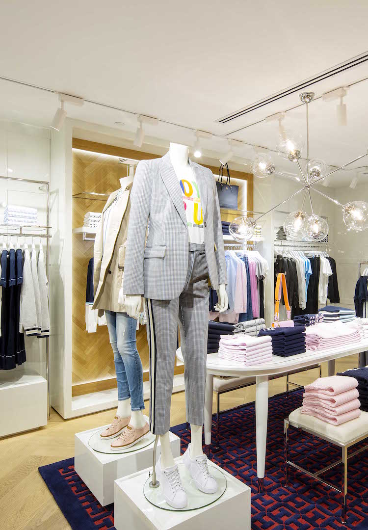 Tommy Hilfiger just opened a new store in Melbourne's CBD