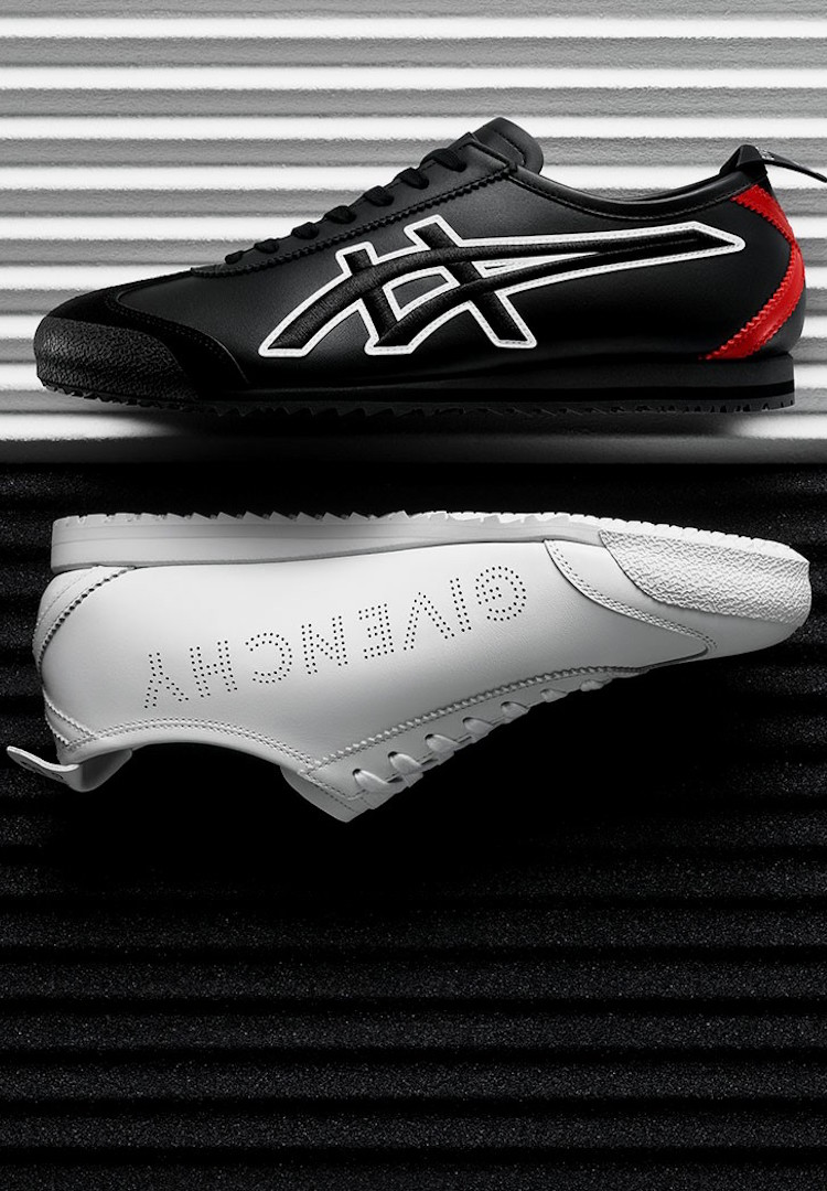 Givenchy unveils unexpected collaboration with Onitsuka Tiger