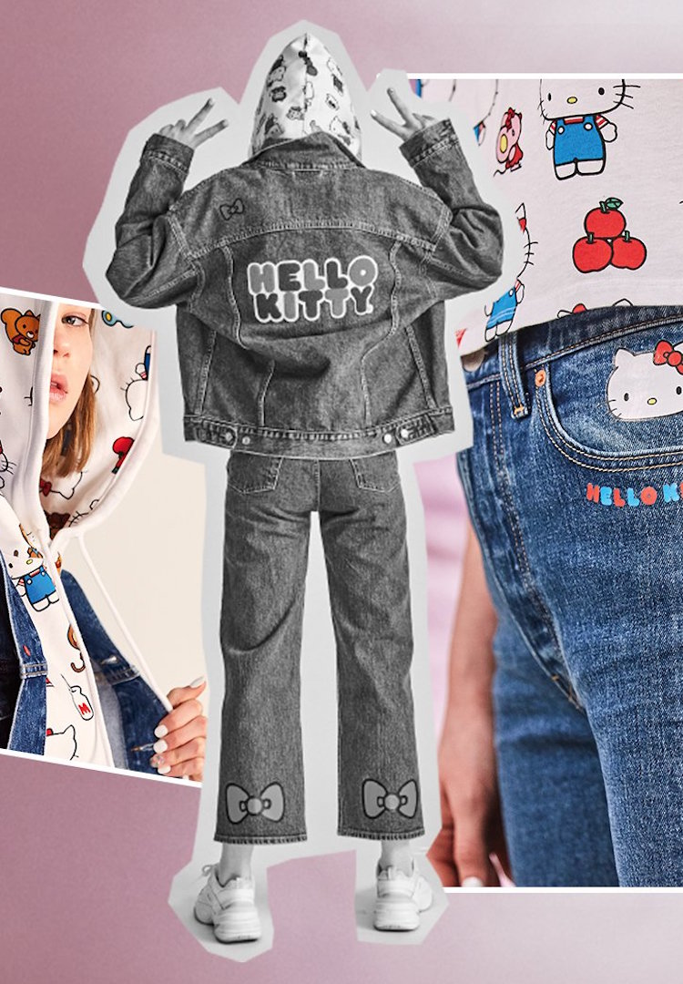 Levi's releases a collection celebrating 45 years of Hello Kitty