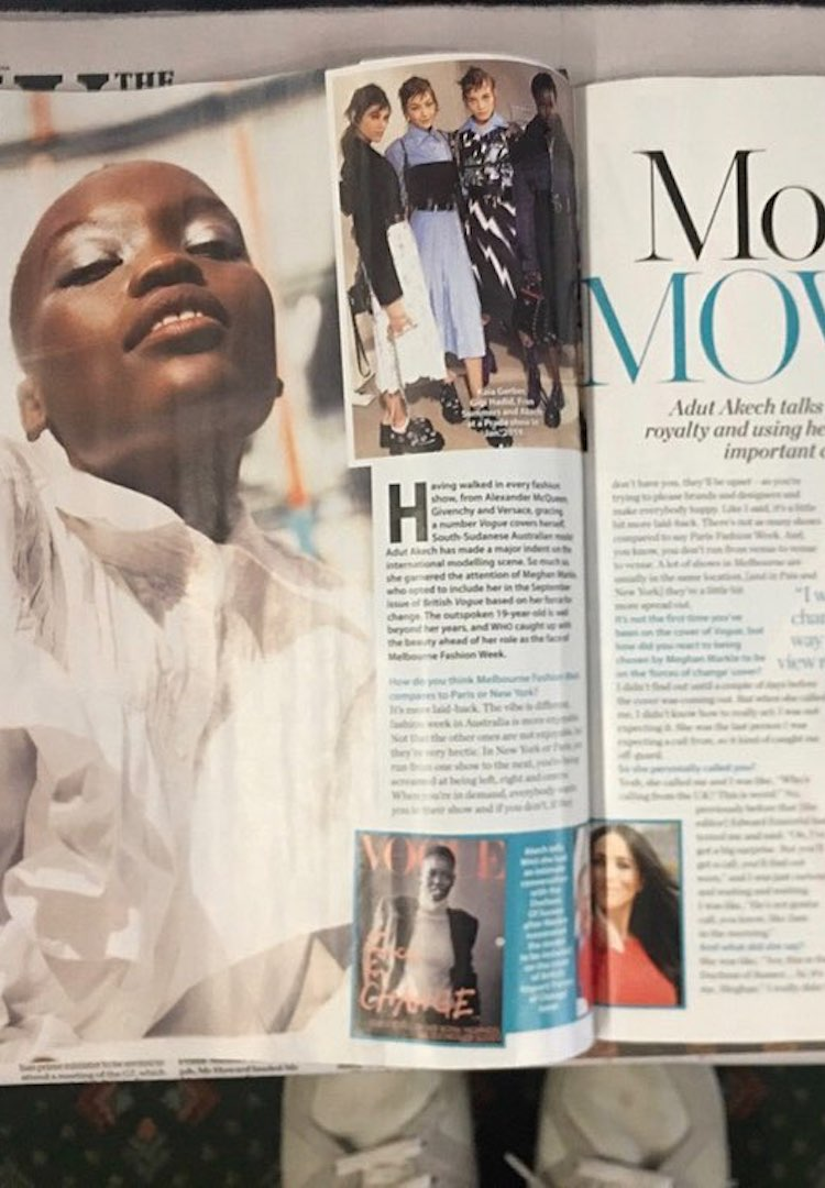 What the Adut Akech/Who Weekly scandal says about our modelling industry