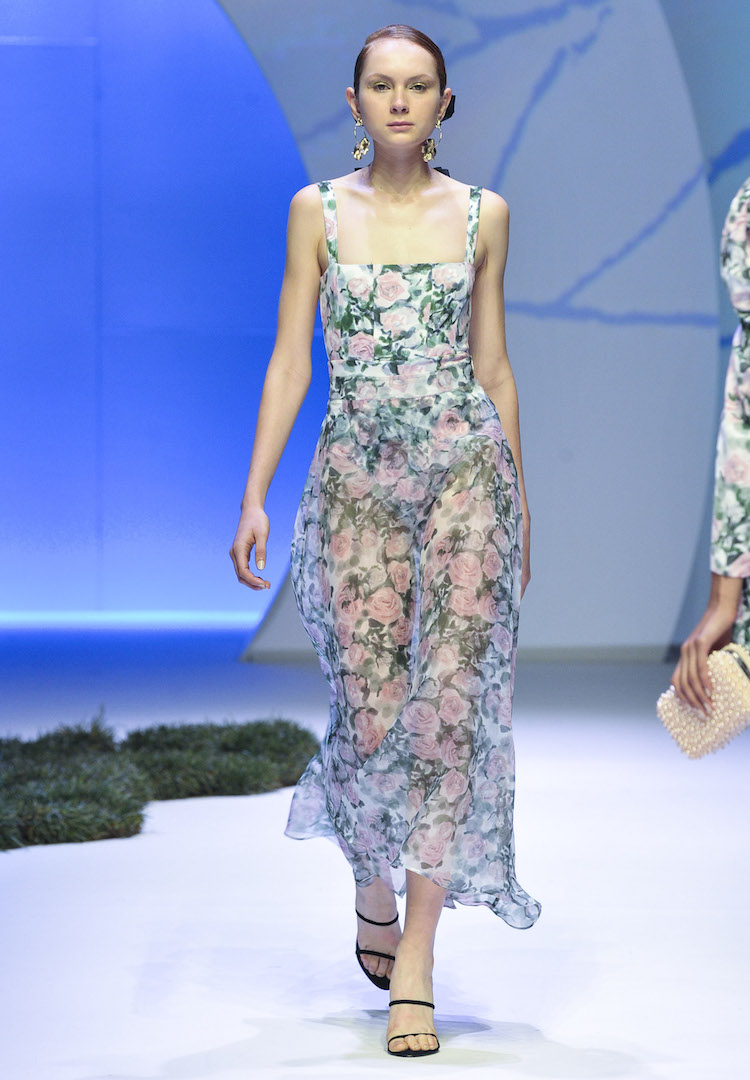 Town Hall Runway 4 taught us that we will again be wearing florals for spring