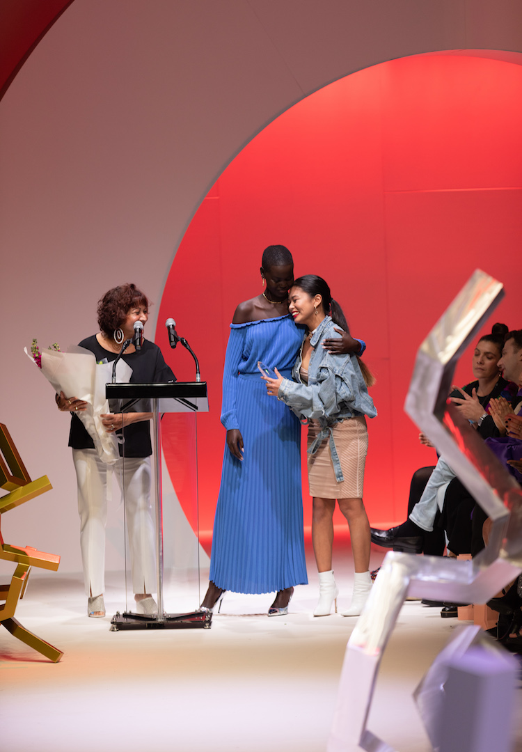 Chelsea Subala wins this year's Melbourne Fashion Week Student Design award