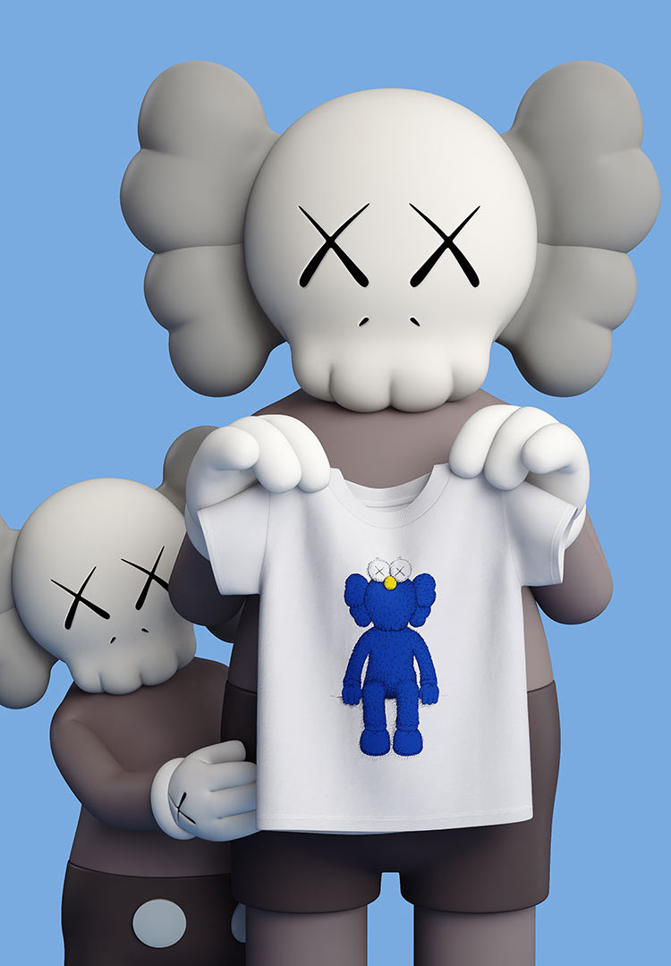 UNIQLO are giving away free KAWS T-shirts in Melbourne CBD right now