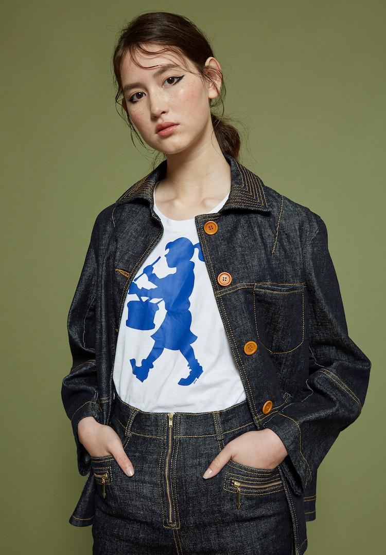 All I want for spring is the Outland Denim x Karen Walker workwear-inspired denim capsule