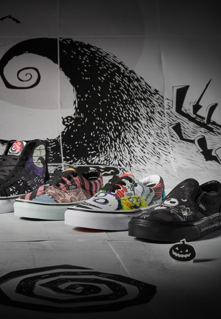Get spooky with Vans x Nightmare Before Christmas collection
