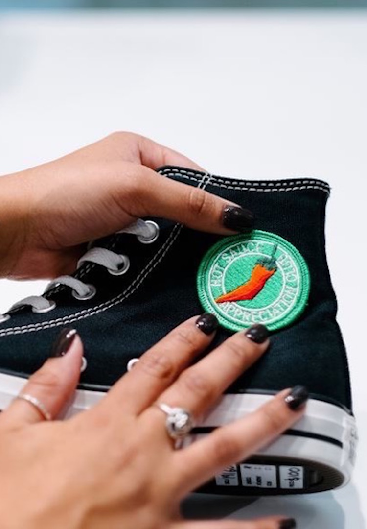 Get creative, Converse has launched in-store customisation in Australia