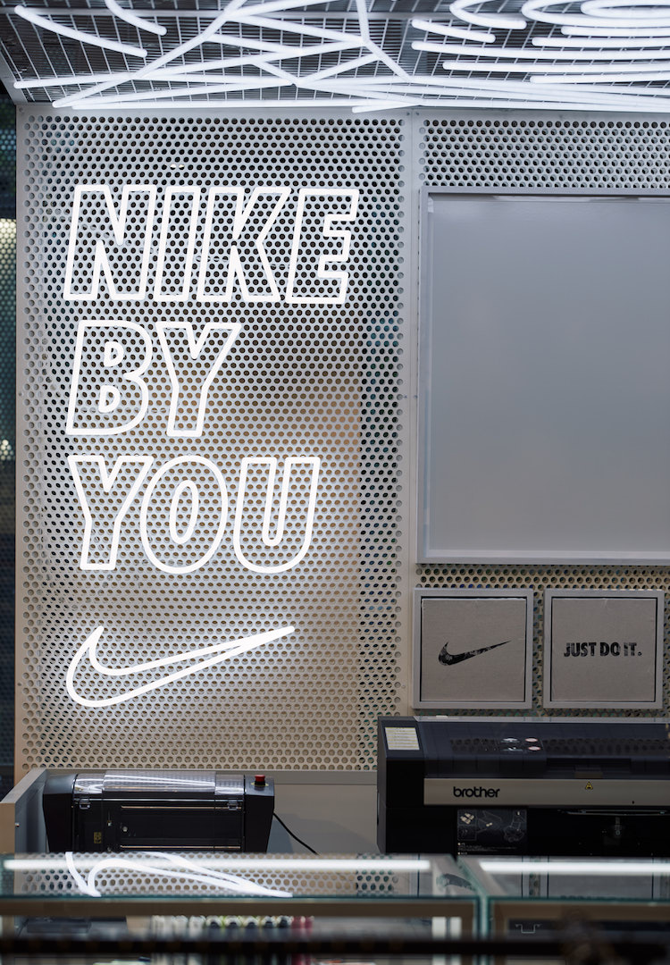 Nike's in-store customisation 'Nike By You' has landed in Australia