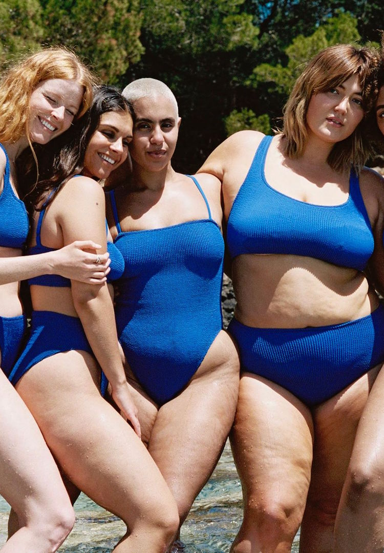 Youswim makes one-size-fits-all bathers up to size 18