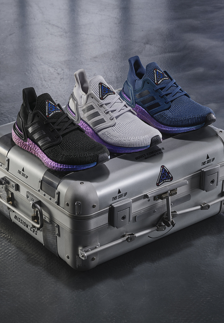 adidas launches new Ultraboost 20 silhouette and sends shoes to space
