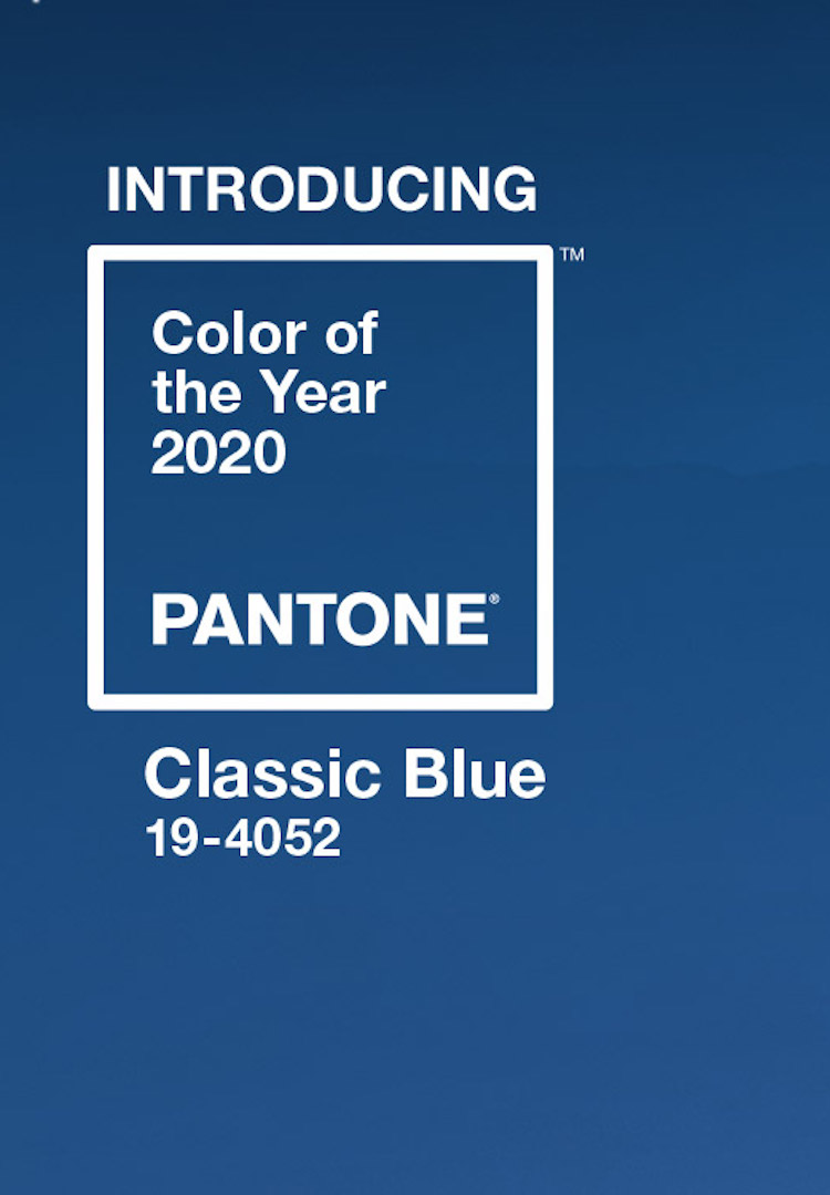 Pantone announces its colour of the year for 2020