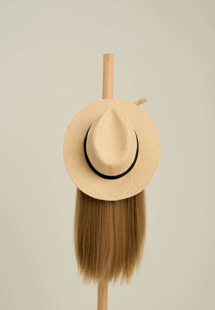 This accessory brand is making hats with wigs for people experiencing hair loss