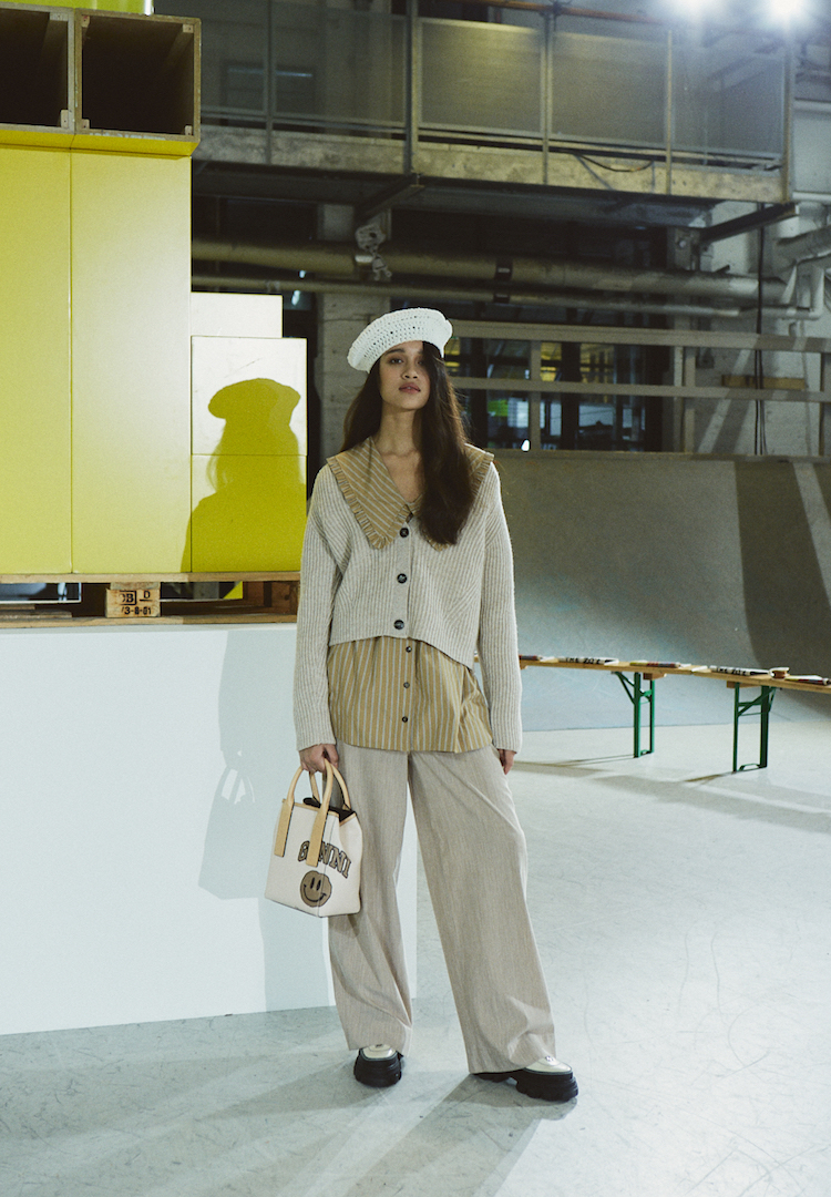 GANNI delivers a smartphone-inspired collection for Copenhagen Fashion Week