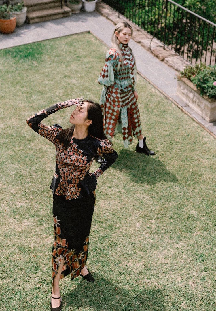 Faiha Rahmani's graduate collection is influenced by powerful women and royalty