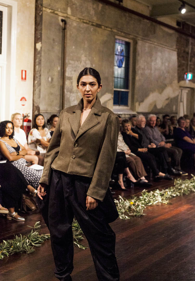 A collective of unknown designers banded together for a memorable VAMFF show