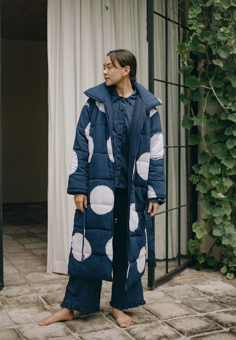 Suku Home has created a puffer-robe hybrid