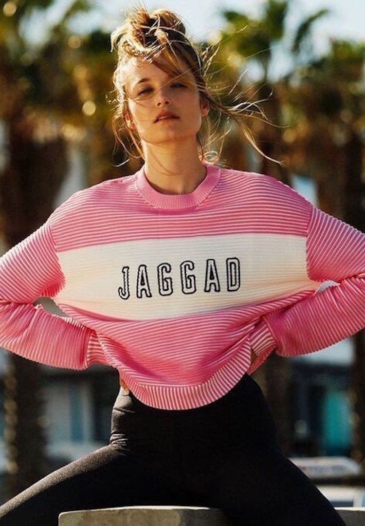 Activewear label Jaggad has been accused of ripping off Australian rival Nagnata
