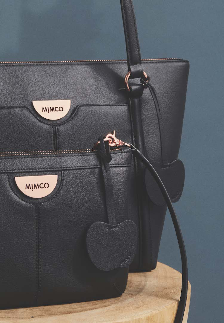 Mimco has added vegan 'apple leather' to its range