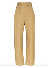 LOW CLASSIC Belted High-waisted Trousers from FARFETCH