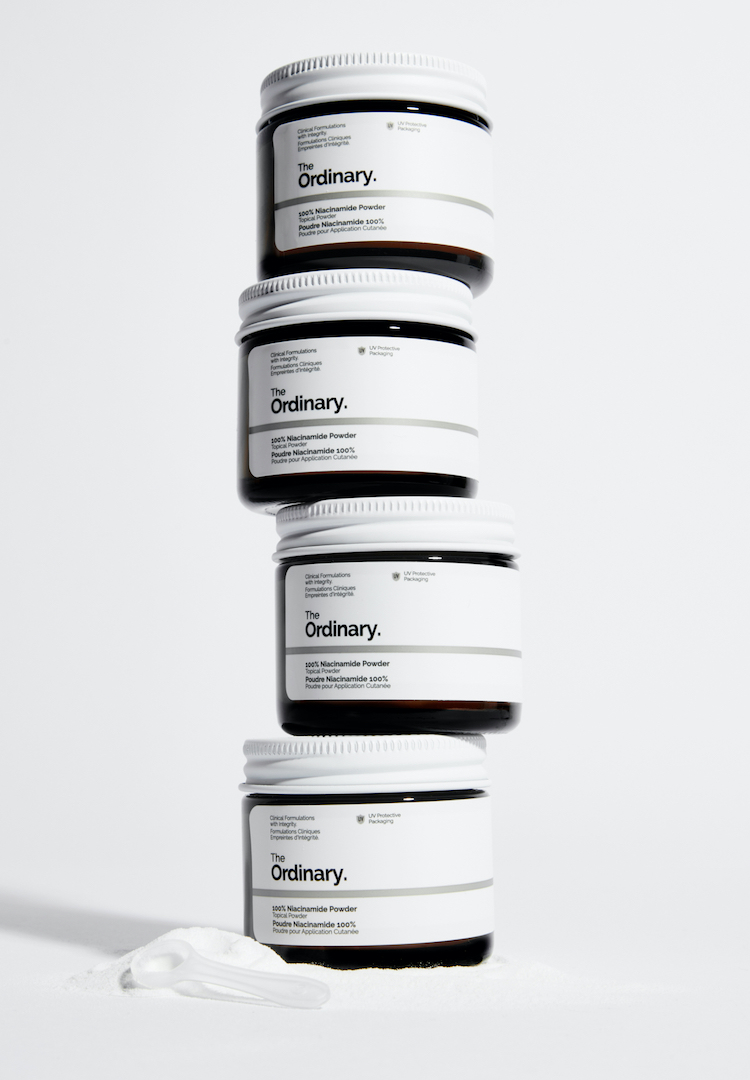 The Ordinary is dropping Niacinamide as a powder mix-in for your moisturisers