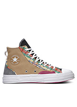 CONVERSE Chuck 70 Pattern Play High Top in Nomad Khaki