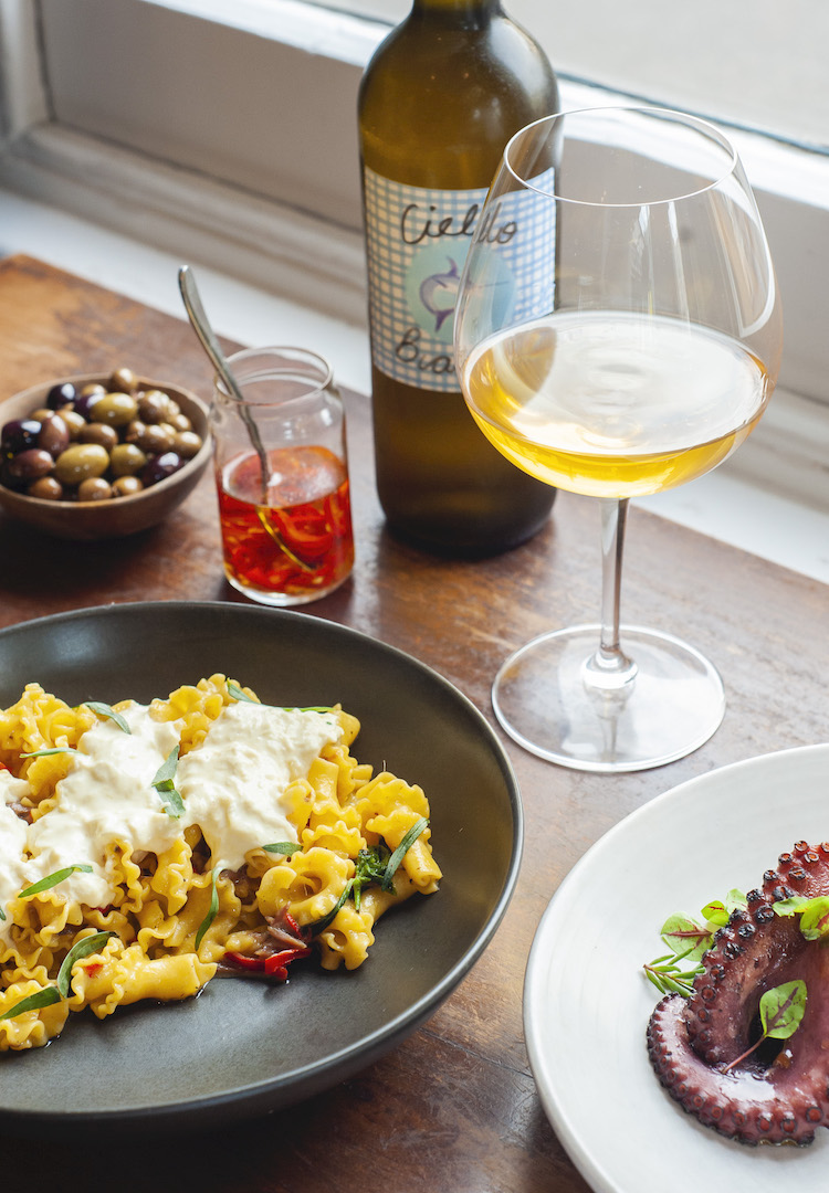 Play chef with this neighbourhood pasta and wine bar