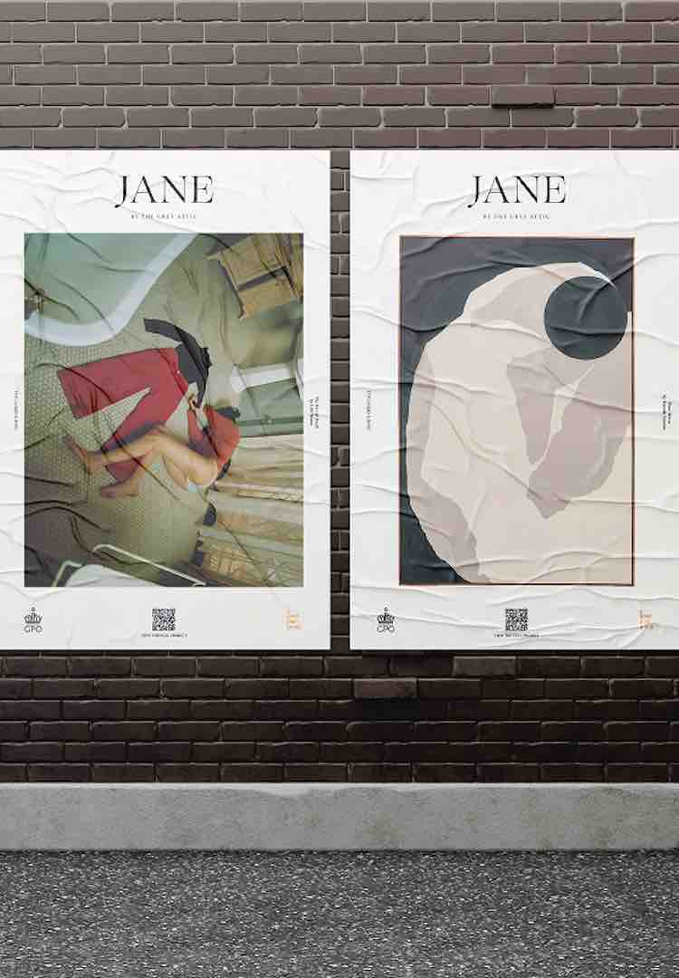 Jane Magazine Pop-Up Laneway Gallery