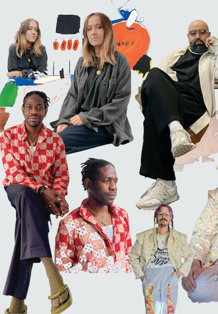 These are the six emerging design talents who've been selected for the 2021 International Woolmark Prize