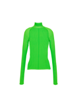 ACNE STUDIOS Neon-Ribbed Turtleneck from THE OUTNET