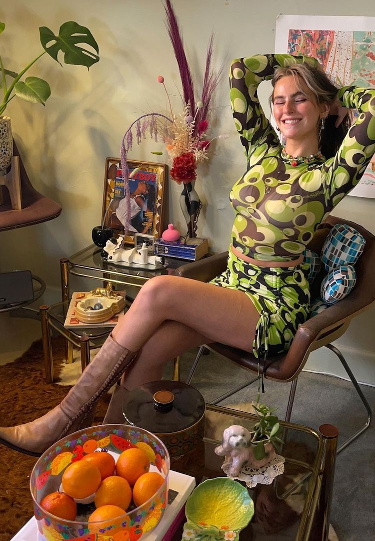 Hey, I Like Your Style! Keely B on her favourite vintage treasures and why she'll never regret an outfit