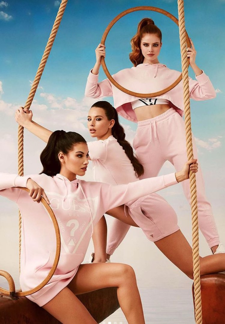 With Guess' foray into activewear, the brand is hitting sustainability targets
