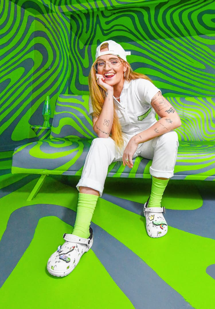 How local artist G Flip launched a sellout Crocs collab