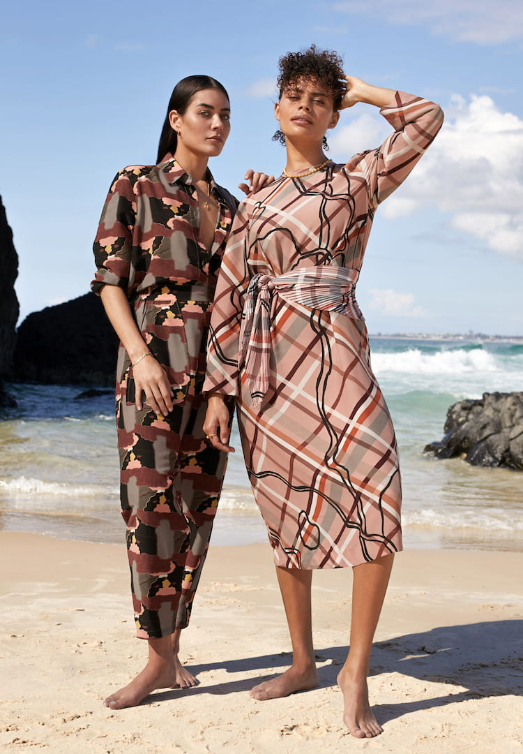 A series of First Nations designers will be stocked at David Jones as part of a new capsule collection